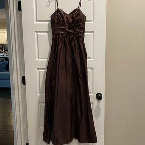 Chocolate Brown Formal Dress